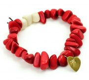 Bracelet Tagua Chip – Red